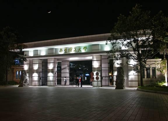 上海地区各高校校门及在校人数排名