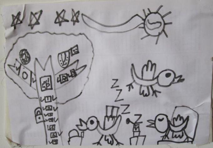 感恩教师节手绘图